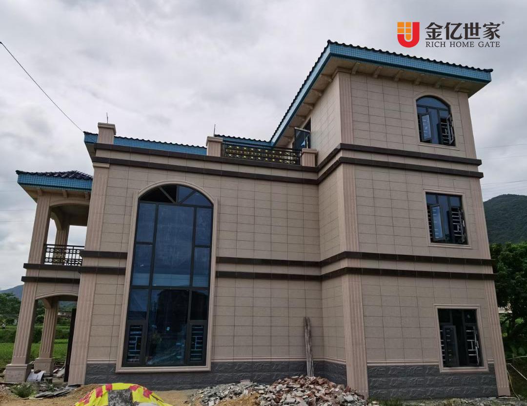 高端铝合金门窗厂家金亿世家精品项目:阳江全别墅门窗